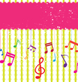 music label design vector image vector image