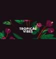 puprle jungle floral background contrast tender vector image