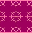 sailboat wheel seamless pattern vector image