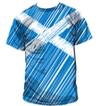 Scottish tee vector image