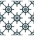 Vintage nautical helms seamless pattern vector image vector image