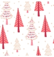 Seamless with winter vector image