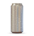 aluminum drink can vector image vector image