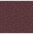Autumn leaves of maple and oak seamless pattern vector image vector image