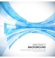 Business abstract blue background vector image