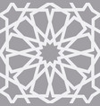 islamic pattern seamless arabic geometric vector image vector image