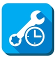 Service Time Icon vector image