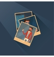 set of three pictures vector image