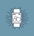 smartwatch device icon vector image