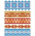 textiles patterns vector image