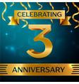 three years anniversary celebration design