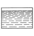 water even smaller amount vintage engraving vector image vector image