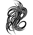 abstract tattoo vector image vector image