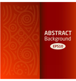 brown abstract African background pattern vector image vector image