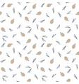 christmas scandinavian seamless patternpine cones vector image
