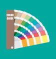 color swatch color palette guide vector image
