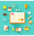 e learning Concept vector image
