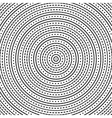 Geometric Modern Seamless Pattern with Circles vector image