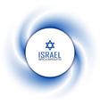 Israeli background vector image vector image