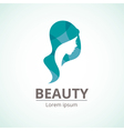 logo template for the beauty industry vector image