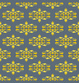 old fashioned floral royal seamless texture vector image