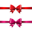 ribbon set isolated vector image
