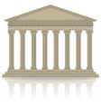 RomanGreek pantheon vector image vector image