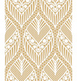 seamless lace pattern made of abstarct ethnic vector image vector image