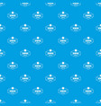 sewing service pattern seamless blue vector image vector image