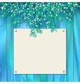 Signboard Christmas Card vector image vector image