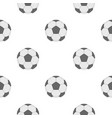 soccer ball pattern flat vector image vector image