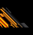 abstract yellow orange grey cyber circuit no black vector image vector image