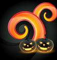 Creative halloween design vector image
