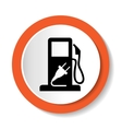 fuel web icon vector image vector image