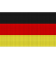 Germany flag embroidery design pattern vector image vector image