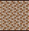 seamless pattern circles vector image vector image