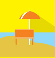 summer holiday icon set of great flat icons with vector image vector image
