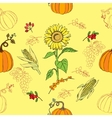 Thanksgiving Seamless Pattern vector image vector image