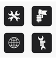 modern labour day icons set vector image vector image