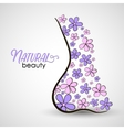 NaturalBeauty vector image