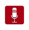 recording app button vector image