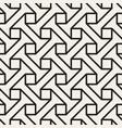 seamless pattern stylish linear lattice vector image