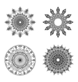 Set of Creative Ornaments vector image