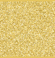 shiny gold glitter sparkling texture vector image vector image