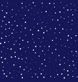 universe space sky star seamless pattern snow fall vector image