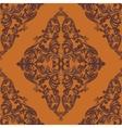 Vintage Baroque damask pattern vector image vector image