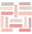 Washi Tape Graphics set vector image vector image