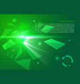 abstract background with polygon explosion in vector image