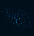 abstract polygonal space vector image vector image