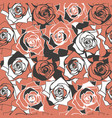 abstract seamless patern with elegant roses